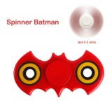 Ôn Tập Fidget Spinner Tay Spiner Batman Fidgit Spinner Phong Cach Tốc Độ Cao Quay 3 Phut Abs Kim Loại Lai Edc Giảm Căng Banh Cho Trẻ Em Đỏ Vang Quốc Tế