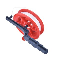 Hình ảnh Fine Grip Wheel Kite Reel Ballbearing Handle with 60/110Meters Line 60m - intl