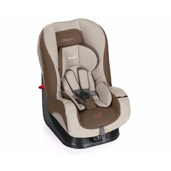 GHỀ NGỒI Ô TÔ CHO BÉ - BREVI GP SPORT FROM BIRTH UP TO 4 YEARS, MÀU NÂU BRE517-398