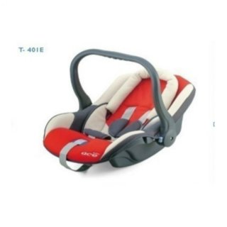 Nôi xách tay 2 chức năng cho bé TC-401 (Đỏ) thumbnail