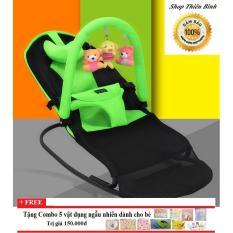 Ghế rung nhún đa năng cho bé có giá treo đồ chơi mẫu 2018 Nhật Bản