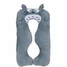Gối Bà Bầu Hali (Màu Xám Totoro) Giảm Cực Đã
