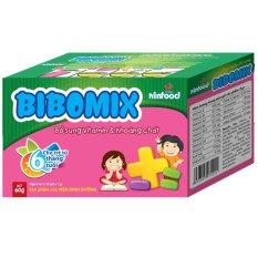 Gói đa vi chất Bibomix(Natural)