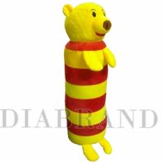 Hình ảnh Gối ôm cao cấp Pooh sọc 60cm hàng VNXK dành cho bé-GODV30 (nhà bán hàng Diabrand)