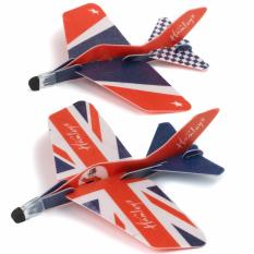 Hình ảnh Hai máy bay phóng lượn Hamleys bản Quốc Kỳ Anh