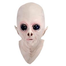 Hình ảnh Mặt Nạ ma Quái halloween Latex UFO Đầu Người Ngoài hành tinh