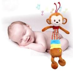 Hình ảnh HAPPY MONKEY Nhạc Khỉ Giường Xe Kéo Treo Đồ Chơi Cho Bé-quốc tế