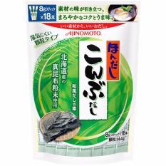 Hạt nêm rong biển Ajinomoto cho bé 144g (8gx18 gói)