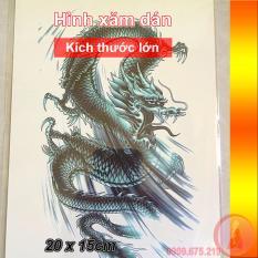Hình ảnh Hình xăm dán bắp tay kích thước 21 x 15 cm - Đại Long