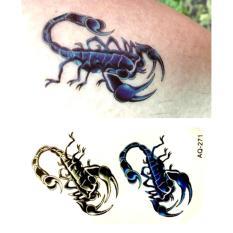 Hình ảnh Hình Xăm Dán Tattoo Bọ Cạp Núi
