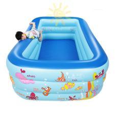 Hình ảnh Hồ Bơi Mini Trong Nhà - Khám phá ngay Bể bơi phao cho bé yêu - Ngộ nghĩnh đáng yêu, An toàn với trẻ nhỏ + Tặng ngay 1 Bơm bể bơi cao cấp - Giảm 50% khi mua trên LAZADA