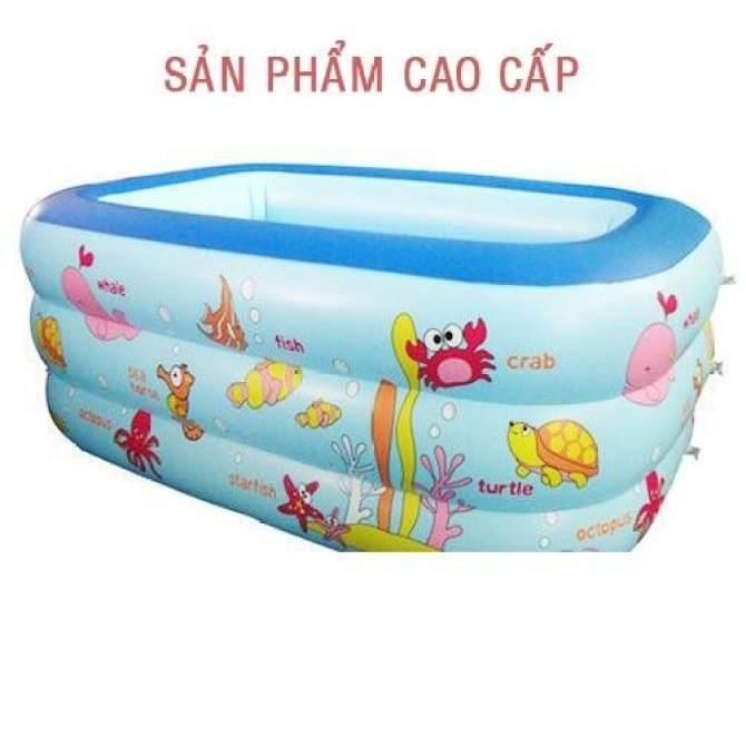 Hình ảnh Hồ Bơi Mini Trong Nhà - Khám phá ngay Bể bơi phao cho bé yêu - Ngộ nghĩnh đáng yêu, An toàn với trẻ nhỏ + Tặng ngay 1 Bơm bể bơi cao cấp - Giảm 50% khi mua trong hôm nay