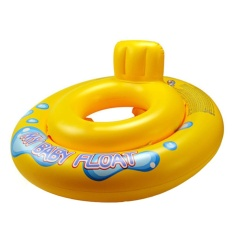 Hình ảnh honful Dual Air Style Inflatable Swim Seat Ring Swim Float for Babies Kids, Yellow - intl