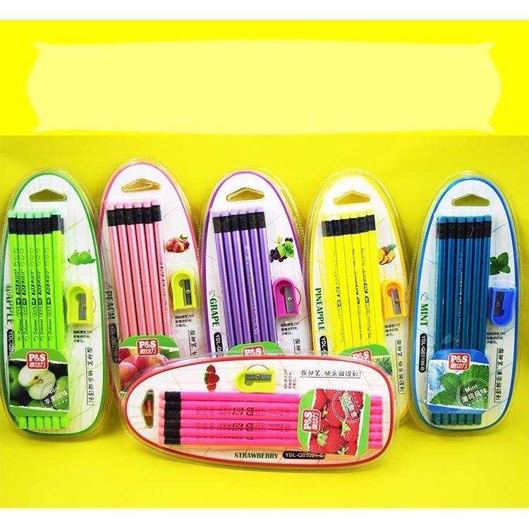 Hình ảnh Hộp 12 bút chì hương hoa quả giá rẻ (Mùi ngẫu nhiên)