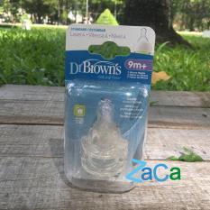 Giá Bán Hộp 2 Num Ty Binh Sữa Dr Brown Cổ Hẹp Size 4 9Th Trong Hồ Chí Minh