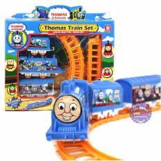 Hình ảnh Hộp đồ chơi đường ray xe lửa tàu hỏa Thomas chạy pin