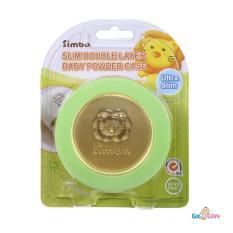 Hộp đựng phấn rôm siêu mỏng Simba 2 lớp S2213