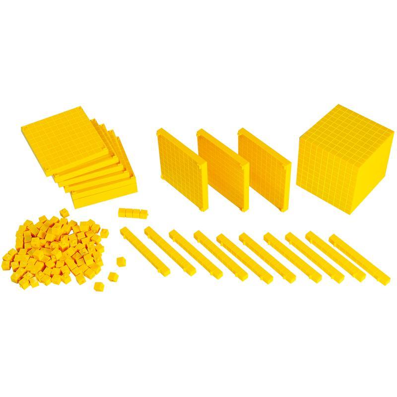 Hộp Gigo Toys Dạy Toán Thập Phân Mầm Non Mẫu Giáo 121 Pcs 1002Sc
