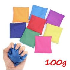 Hình ảnh Juggling Balls Classic Bean Bag Juggle Magic Circus Beginner Kids Toy 10x10 cm - intl