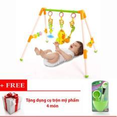 Hình ảnh Kệ đồ chơi chữ A cho bé kèm dụng cụ đắp mặt nạ 4 món