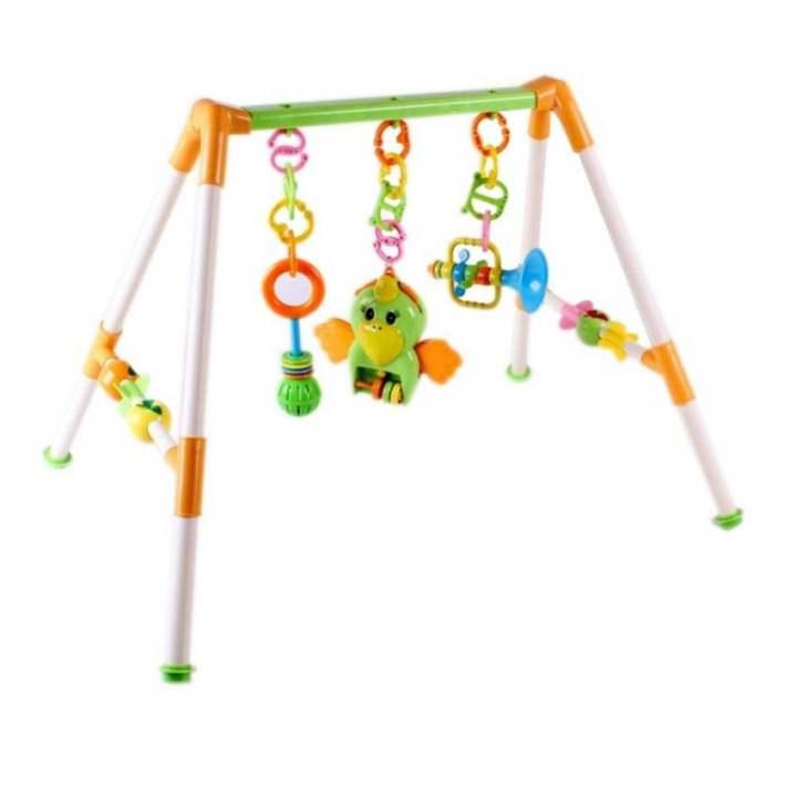Kệ đồ chơi hình chữ A Baby Playgym ABN 2821 (Con Vẹt)
