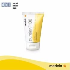 Kem chống nứt đầu ti Medela Purelan100 37g - Hàng phân phối chính thức Medela Thụy Sĩ
