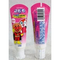 Kem đánh răng Lion trẻ em (hương dâu - 40g)