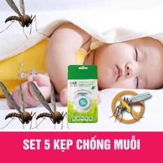 Kẹp chống muỗi Hàn Quốc 5 chiếc