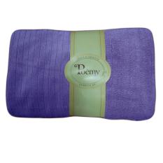 Khăn tắm đại sọc gân Poemy 73x136cm (Tím Violet)