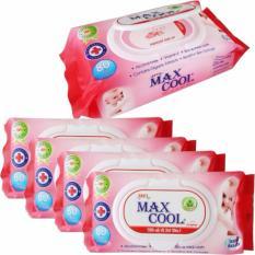 Khăn Ướt 30 Goi 80 Tờ Hương Nha Đam Maxcool M013 Hồ Chí Minh Chiết Khấu 50