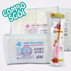 Mua Khăn Vải Kho Sunbaby Khong Dệt Đa Năng Combo 05 X 100 Khăn Goi Tặng 01 Cọ Suc Binh Sữa 2 In 1 Mới