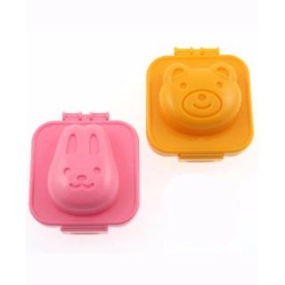 Khuôn tạo hình cơm, trứng hình gấu và thỏ hàng nhập khẩu Nhật Bản thumbnail