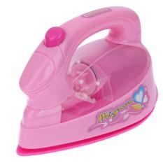 Hình ảnh Kids Mini Electric Iron Light-up Simulation Play House Toy - intl