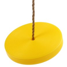 Hình ảnh Kids Plastic Disc Swing Hanging Seat Outdoor Toys Playground Fitness Game - intl