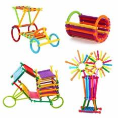 Hình ảnh Kids Plastic Intelligence Sticks Educational Building Blocks Early Learning - intl