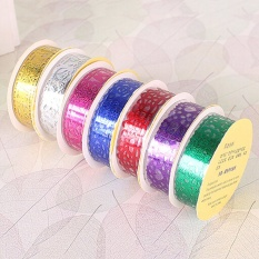 Hình ảnh Lace Roll DIY Washi Decorative Sticky Ribbon Masking Tape Self Adhesive Gold - intl