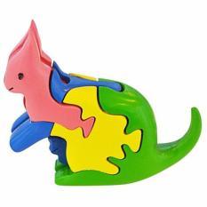 Hình ảnh Lắp Ráp Mô Hình Puzzle Tottosi 3D - Kangaroo 304020 (5 Mảnh Ghép)