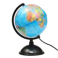 Hình ảnh ĐÈN LED THẾ GIỚI QUẢ CẦU Xoay Xoay Bản Đồ Trái Đất Tập Bản Đồ Địa Lý-quốc tế