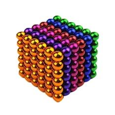 Hình ảnh leegoal A Set Of 216 5mm Magnetic Decompression Toy Balls, Muiltcolor - intl