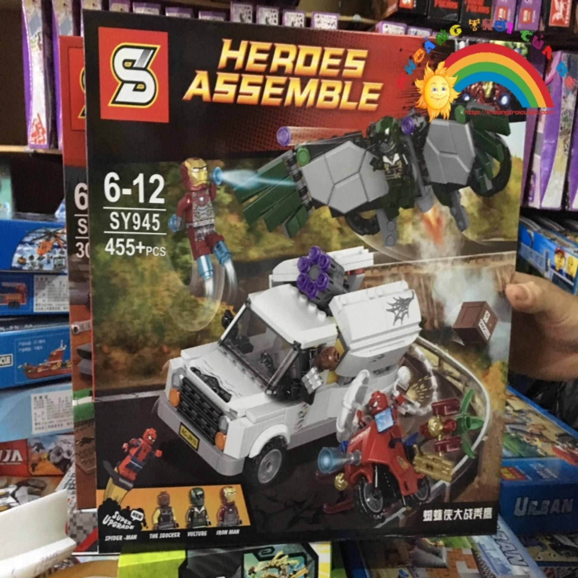 Lego Hero Assenble Sy945 Kta875