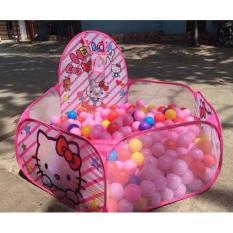 Hình ảnh Lều bóng dễ thương kèm 100 quả bóng nhựa cho bé