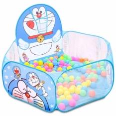 Hình ảnh Lều bóng Doraemon kèm 100 quả bóng nhựa