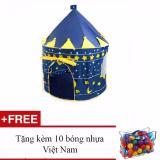 Bán Lều Bong Lau Đai Hoang Tử Xanh Tặng Kem 10 Bong Nhựa Việt Nam Rẻ Trong Hà Nội