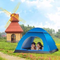 Hình ảnh Lều Cắm Trại 4 Người Loại Tốt 1M4 x 200 x 130 cm ( nhiều màu )