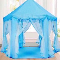 Hình ảnh Lều công chúa phong cách Hàn Quốc cho bé (Xanh)