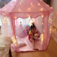 Hình ảnh Lều Màn Hoàng Tử - Công chúa cao cấp cho bé ( Màu hồng )