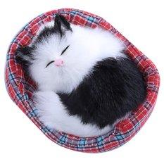Hình ảnh Mô hình Mèo Ngủ đáng yêu, có thể làm quà sinh nhật/quà giáng sinh-quốc tế