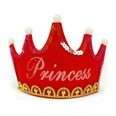 Hình ảnh Luminous Birthday Party Happy Crown Hat color:Red size:princess - intl