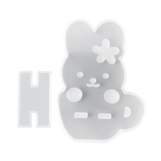 Hình ảnh MagiDeal 1 Piece Silicone Mold for Crystal Phone Holder Stand Making Craft Tool #2 - intl