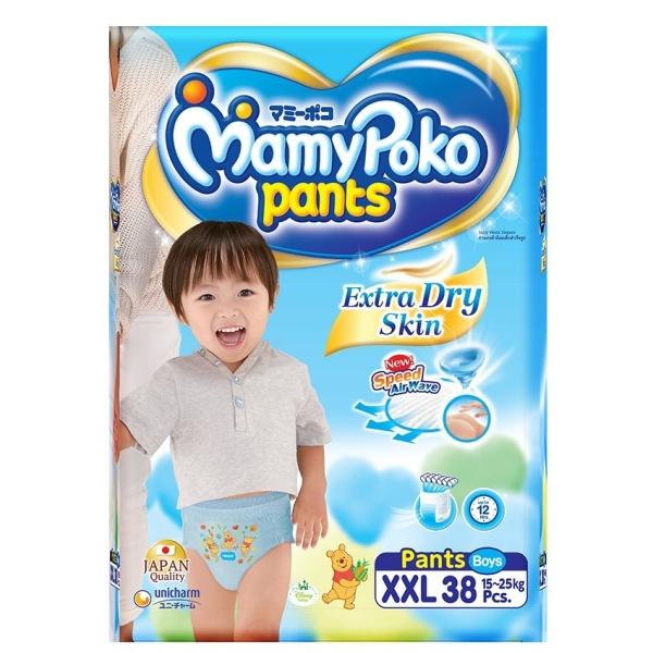 Mamypoko XXL38 - Tã quần dành cho bé trai